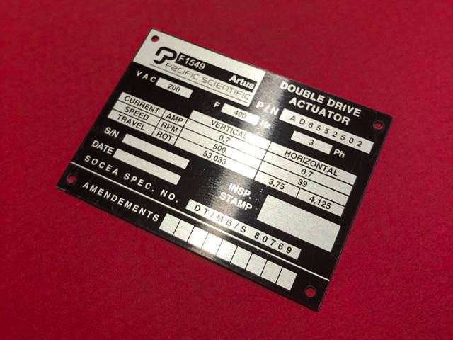étiquette inventaire-propriété-poste-adhesive-industrielle-aluminium