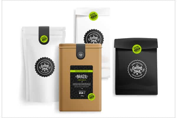 Etiquette emballage brazil