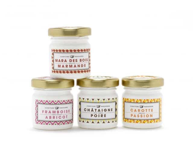 Etiquette alimentaire-packaging-confiture