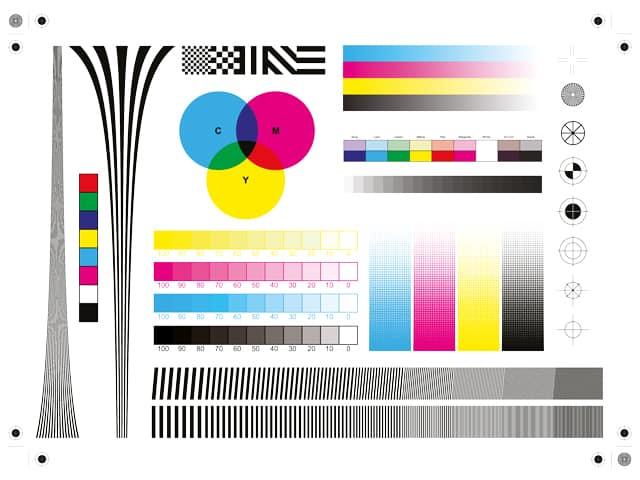 Etiquette graphisme, création, couleur, calage, impression